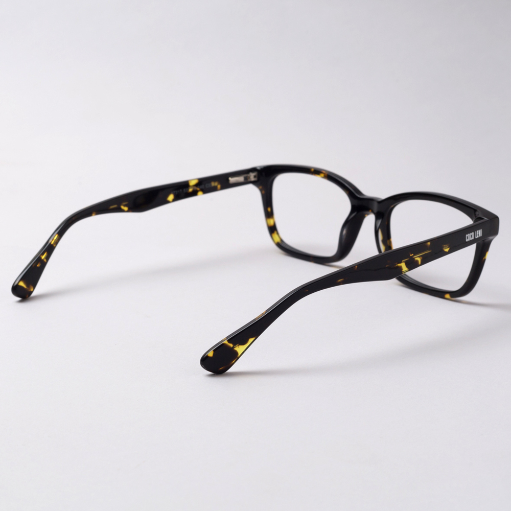 Romainmotier Tortoise Shell Black Yellow