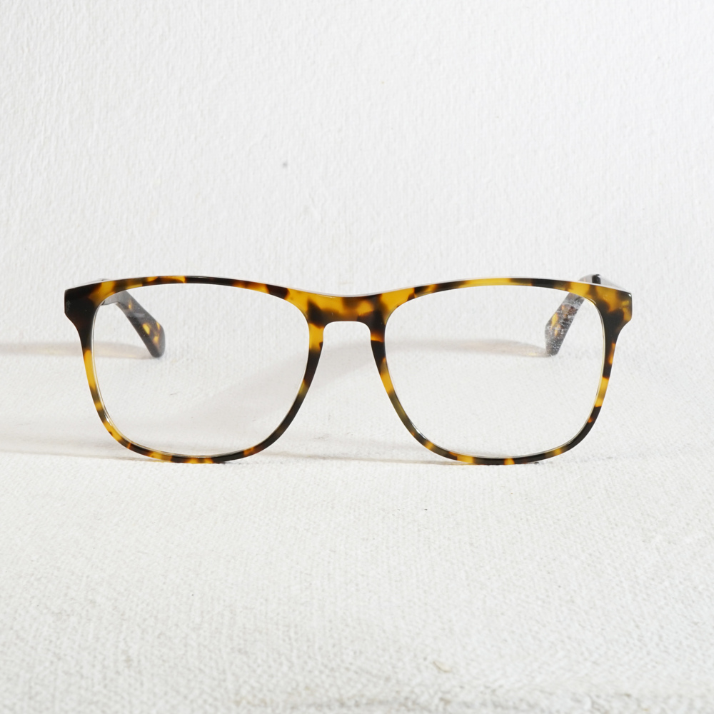 Ansbach Yellow Tortoise Shell Brown Silver