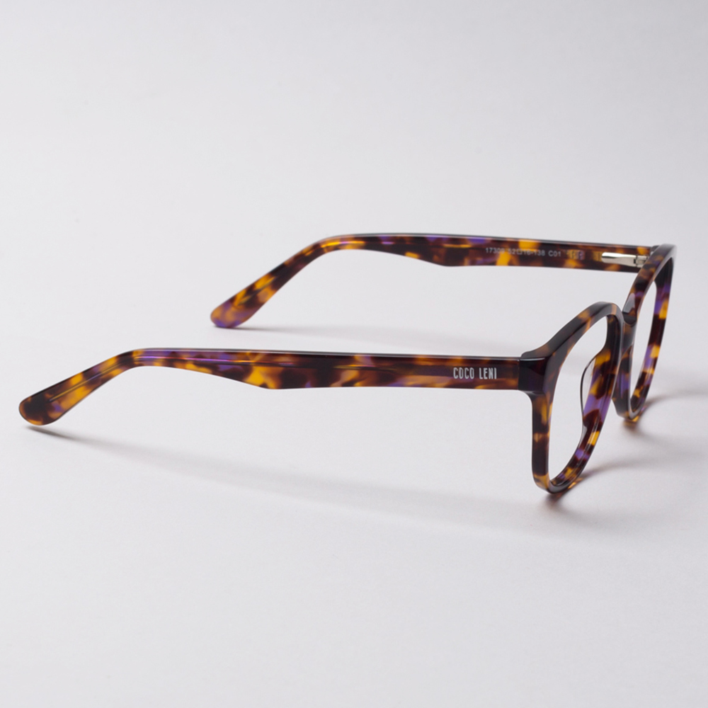 Locle Tortoise Shell Brown Black