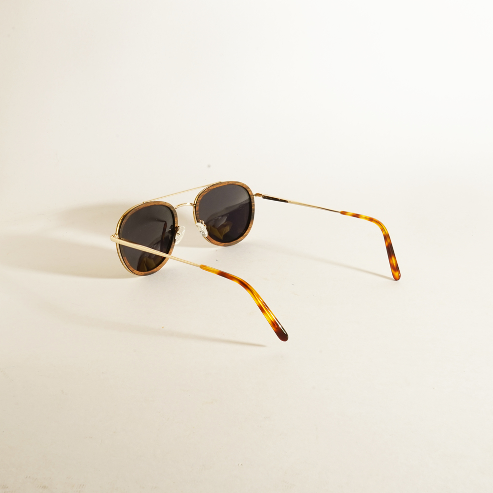 MS202-R-A-D11 Tortoise Shell Gold Oak Wood