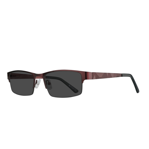 Weatogue Half Rim Wayfarer 10685