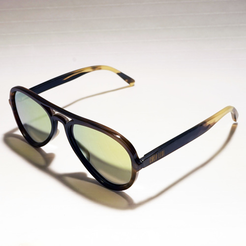Flash Horn Full Rim Aviator 13742